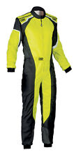Omp Ks-3 Suit Yellow Fluo Go Karting Racing Overall Cik 3 Layers 2019