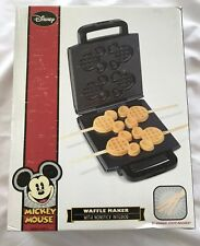 Walt Disney Mickey Mouse Waffle Maker Waffles On Sticks New In Sealed Box