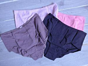 Petite Fleur Slip Unterhose Panty 4 er Pack Gr. 48/50 mehrfarbig (068) Übergröße