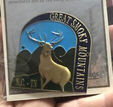 GSM Elk Great Smoky Mountains Walking Stick Hiking Medallion