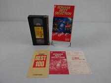 Cassette Akumajo Dracula Castlevania VHS arcade collector thunder cross contra