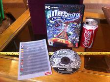 Roller COASTER TYCOON 3 PC CD ROM GIOCO ATARI Parco a tema