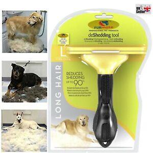🔥Pet Dog Cat Hair Fur Deshedding Shedding Trimmer Grooming Rake Comb Brush Tool