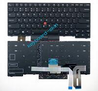 New Lenovo IBM Thinkpad T490 (Not Compatible T490s) laptop US keyboard backlit