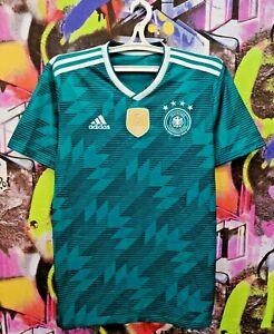 Germany Soccer National Team 2018 Away Football Shirt Jersey Top Adidas Mens M
