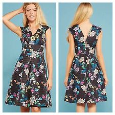 Darling @ Kaleidoscope Size 16 Zahara Black Floral DRESS Party Occasion £110
