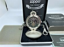 Mega Rare! ZIPPO Limited Edition Mechanical Automatic Chain Pocket Watch w Case
