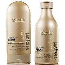 L'Oreal Professionnel Absolut Repair Lipidium Shampoo & Conditioner (Bundle)