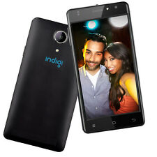 "Indigi® Unlocked 5.0"" Quad Core Android 6.0 MM DualSim 4G Smart Cell Phone Black"