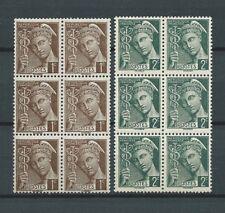 FRANCE - 1938 YT 404 à 405 blocs de 6 - TIMBRES NEUFS** LUXE