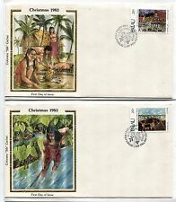 18 Republic of PALAU Christmas Bicentennial BIRDS FDC First Day Cover Collection