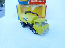 DINKY TOYS 449 JOHNSTON ROAD SWEEPER 1978 GREEN  VN MINT BOX RARE !!!!!