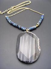 eadb8f9c8105 Collares y colgantes de bisutería color principal negro ágata ...