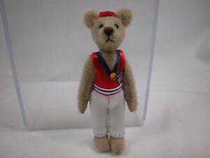"World of Miniature Bears By Theresa Yang 3"" Bear Connors #892B CLOSING"