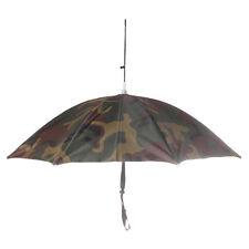 Outdoor Umbrella Hat Head Cap for Fishing Camping Hiking Sun Rain Wear Camo