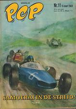 PEP 1969 nr. 11 - MICHEL VAILLANT (COVER H.G. KRESSE) / VASOVIC & MRAZ / COMICS