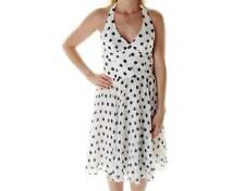 KENSIE ~ NEW $158 BLACK & WHITE POLKA DOT DRESS ~ SZ 10 ~ NWT