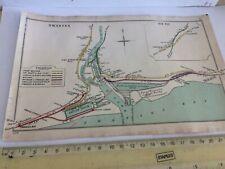 SWANSEA BAY HIGH STREET VICTORIA DOCKS RIVER TAWE SIX PIT RAILWAY MAP 1904