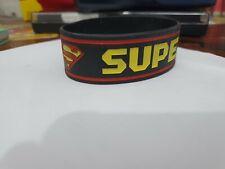Pulsera Goma Superman