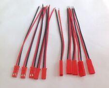 5 Paar JST BEC Stecker und Buchse  an  AWG22 Kabel 10cm ESC RC Lipo Akku