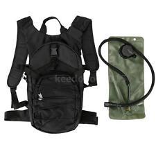 Cycling Hiking Hydration Knapsack Pack Backpack + 2.5L Water Bladder Bag CO D6L0