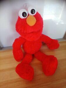 Peluche doudou Elmo Barrio Sesamo 40 cm en état neuf