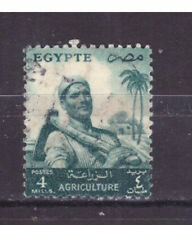 FRANCOBOLLI Egitto Egypt 1954-55 Serie Ordinaria 4 m. YV367A