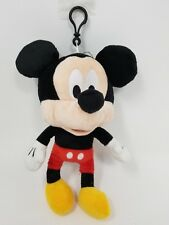 "New Arrive Disney Mickey Mouse 8"" Plush Keychain/Coin Purse-Red"