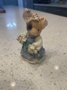 1995 Enesco This Little Piggy Sow In Love Pig Figurine