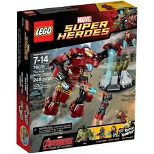 Lego 76031 Marvel Super Heroes The Hulk Buster Smash NEW & MISB
