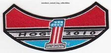 2010 HOG Members Patch HARLEY DAVIDSON OWNERS GROUP rocker HD MC club life