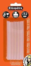 Boite de 12 blisters de 12 Batons de colle Cléopâtre Extra Verre & métal