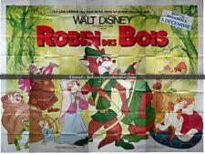 ROBIN DES BOIS Affiche Cinéma GEANTE 4x3 WIDE Movie Poster DISNEY