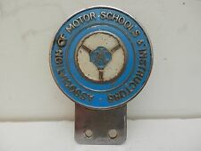 RARE. RAC Associazione delle scuole a motore & istruttori. automobile CLUB distintivo.