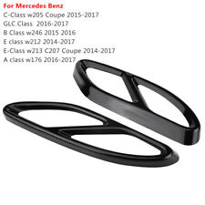 Exhaust Pipe Tip Cover for Mercedes GLC C E Class W205 Coupe W246 W212 W213 W176