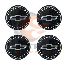 2016-2018 Colorado Gloss Black Bowtie Performance Center Cap Set Of 4 19351755