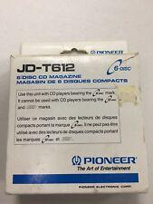 *BRAND NEW* Pioneer JD-T612  CD Cartridge 6 Disc Old Skool