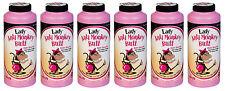 6PACK: LADIES Anti Monkey-Butt Powder (6oz bottles)