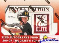 2013 Panini Elite Extra Edition Baseball HOBBY Box-6 AUTO! Judge,Bellinger RC Yr