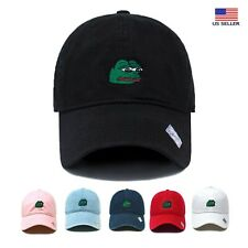 Sad Pepe The Frog | Dad Hat Cotton Baseball Cap Polo Style | Low Profile