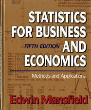 Statistics for Business and Economics: Methods and Applications,Edwin Mansfield