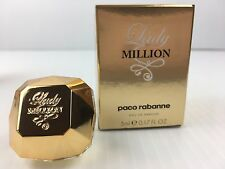 LADY MILLION By PACO RABANNE FOR WOMEN MINI Perfume 0.17 OZ NEW IN BOX