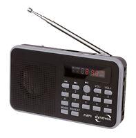 DYNAVOX FMP3  MP3-RADIO mit Akku  Mini Radio  Taschenradio MP3 FM