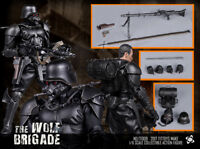 1:6 Scale TITTOYS TT009 The Wolf Brigade-black Wolf Figures Model Collection Toy