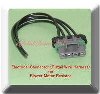 4 Wire Electrical Connector for Blower Motor resistor RU201 Fits:Grand Cherokee