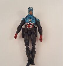 "Marvel Universe Gigantic Battles BUCKY CAPTAIN AMERICA Loose 3.75"" Figure Hasbro"