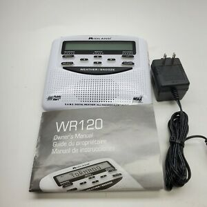 Midland WR120EZ NOAA Emergency Weather Alert Radio w/ Battery Back Up