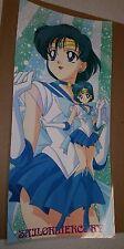 Sailor Moon Super Sailor Mercury color poster 11x17 laminated pgsm