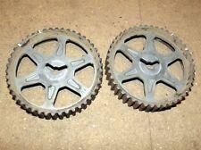 Camshaft pulley set, Mazda MX-5 mk1 1.6 1.8, MX5 or Eunos, 2 x cam sprockets