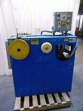 Machinery Engineered Company Wire Uncoiler / Straighter Machine